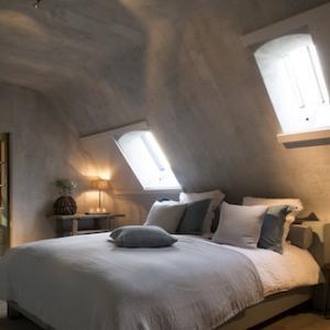 Binnenbepleistering slaapkamer
